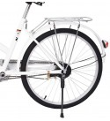 24-Inch Urban Women's Cruiser Bike, Youth/Adult Comfort Single-Speed Beach Cruiser Bike, Suspension Seatpost Ideal for Leisure Sports and Light Sports Riders