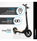 Magnum Premium S1+ Adult Electric Scooter – 500W, Large Capacity 48V/10A Lithium Battery – Easy Fold-n-Carry Design