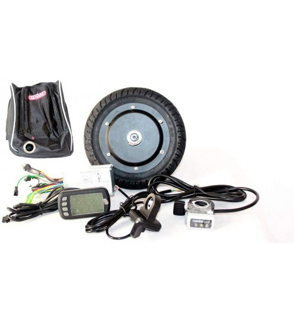 350W 8 INCH Electric Scooter BRUSHLESS HUB Motor KIT CAN with LCD Display WUXING Throttle DIY Electric Scooter Town 7 XL