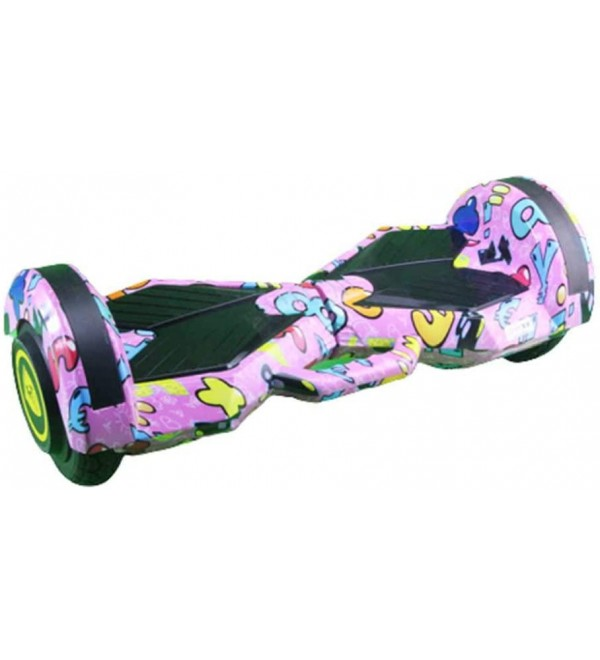 ZJGH Self Balancing Electric Scooter Skateboard Bluetooth Hover Board 2 Wheel Scooter Maximum Load Capacity 120KG 9 inches,Top Version
