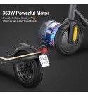 MEGAWHEELS S11X Electric Scooter, 350W Motor, 3 Gears, Max Speed 15.5MPH, 16 Miles Powerful Battery with 8.5'' Tires, Foldable Electric Scooter for Adults, Children, Max Load 260lbs