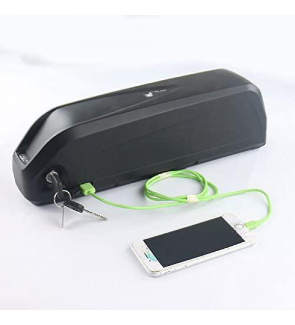 48V 16Ah Samsung cell Li-ion Battery with BMS, Ebike Battery ,E-bike 48v 16ah Lithium ion Battery Pack with 2A charger for Electric Bike and Scooter , for 1000W or 1500W Hub Motor, E-bike Kit, Ele