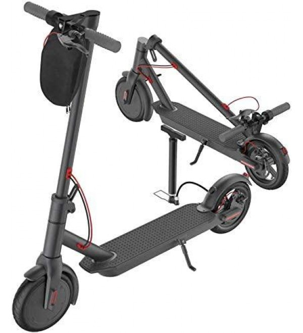2020 Portable Electric Scooter-350W Motor Rechargeable Folding Scooter for Teenagers and Adults with Headlight and Hand Brake