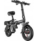 HoHo Electric Scooter w/Seat - Electric Bike for Adults & Youth - Folding Electric Scooter - E-Bike Scooter for Outdoor Commute   14