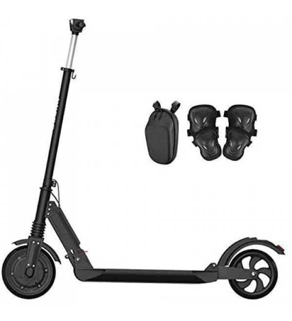 JKC 350W Electric Scooter Adult Folding Speed Electric Scooter 3 Speed Modes 30KM, Lightweight and Foldable,24 LBS