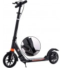 CMMC Adult Black Scooter, Unisex Adult Kick Scooters with Disc Brakes, Foldable Commuter Scooters with Big Wheels, Birthday Gifts for Women/Men/Teens/Kids, Supports 330lbs, Non-Electric
